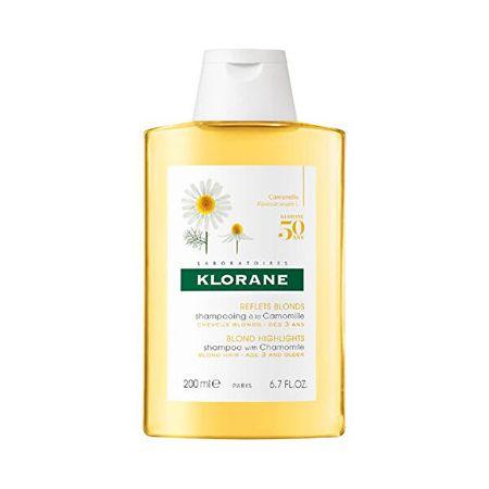Klorane (Blond Highlights Shampoo Wiht Chamomile) (objętość 400 ml)