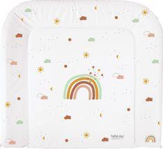 Bebe-jou Přebalovaci podlozka třístranná Rainbow Sky,72x77cm