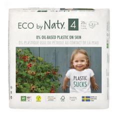 ECO by Naty pelene 4 Maxi (7-18 kg) 26 komada