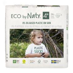 ECO by Naty Plenky Maxi+ (4+) (9-20 kg) 24 ks