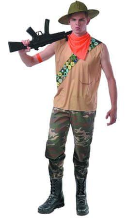 MaDe pustni kostum – lovec, 56–58