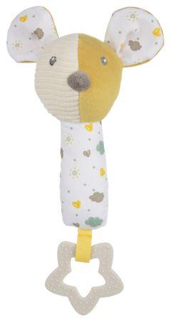 Canpol babies przytulanka z piszczałką i gryzakiem Mouse