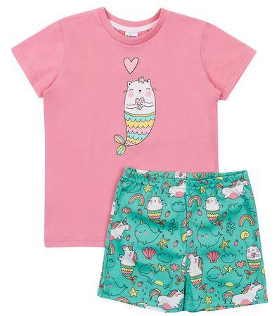 Garnamama md111401_fm3 dekliška pižama, roza, 98–104