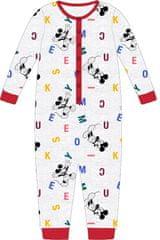 """Eplusm Chlapčenské bavlnené pyžamo """"Mickey Mouse"""" - sivá"""