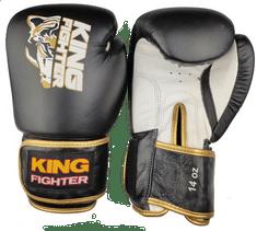 """King Fighter Boxerské rukavice King Fighter """"GOLD"""" váha/velikost: 10"""