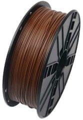 Gembird tlačová struna, PLA, 1,75mm, 1kg, hnedá (3DP-PLA1.75-01-BR)