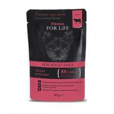 Fitmin hrana za pse u vrećici dog pouch adult beef in gravy, 28x85 g