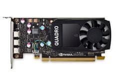 PNY Quadro P400 grafička kartica, 2GB GDDR5 (VCQP400V2-5)