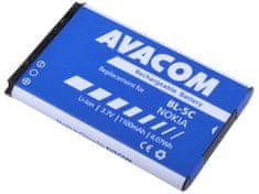 Avacom batéria do mobilu Nokia 6230, N70, Li-Ion 3,7V 1100mAh (náhrada BL-5C) GSNO-BL5C-S1100A