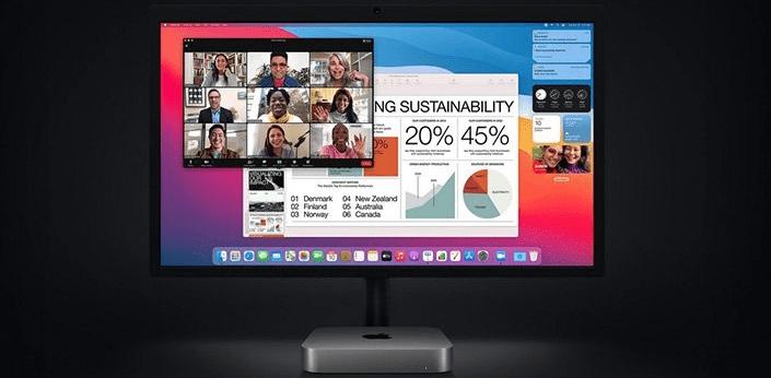 Pracovný počítač Apple Mac mini M1 (MGNT3CZ/A) USB, USB 3.0, HDMI, LAN RJ-45, DisplayPort