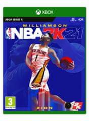 Take 2 NBA 2K21 Standard Edition igra (Xbox Series X)
