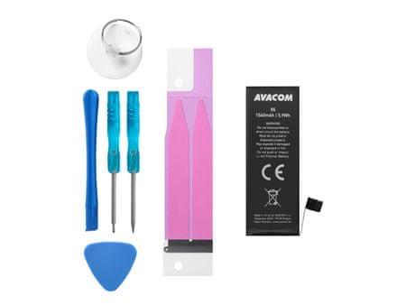 Avacom Akkumulátor Apple iPhone 5s / 5c, Li-Ion 3,8V 1560mAh (616-0718 helyettesítő terméke) GSAP-IPH5S-1560