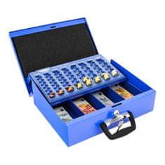 Rottner Europokladnička kufrík BRÜSSEL modrá