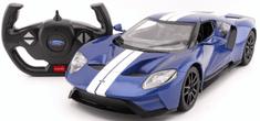 Mondo Motors RC Ford GT 2,4Ghz 1:14 light + open door kék