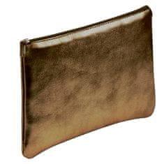 Clairefontaine Pernica, koža, plosnata, 11 x 22 cm, smeđa