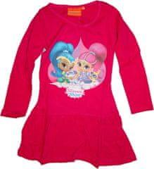 Nickelodeon Dívčí červené šaty Shimmer a Shine.