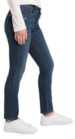 Tom Tailor jeansy damskie 1021196, 26/32 ciemnoniebieskie