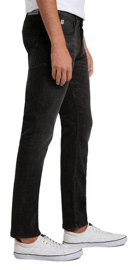 Tom Tailor pánske džínsy 1020743 29/32 čierne