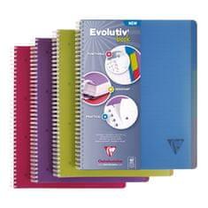 Clairefontaine Evolutiv Book blok, spiralni, črtan, A4