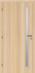 SOLODOOR Interiérové dveře SOLODOOR, prosklené, model SMART 20, šířka 800 mm, levé provedení, povrch SOLO STRUKTUR, dekor STOCKHOLM, oblá boční hrana