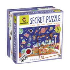 Ludattica XXL puzzle s lupou - Ludattica - Vesmír - 24 dílů
