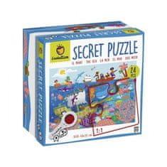Ludattica Odkrývací puzzle s lupou - Ludattica - Moře - 24 dílů