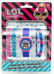 ToyCompany Dárkový set hodinky a náramky L.O.L. Surprise 5ks