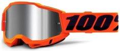 100% ACCURI 2 100% - USA , brýle Orange - zrcadlové stříbrné plexi 50221-252-05