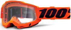 100% ACCURI 2 100% - USA , brýle Orange - čiré plexi 50221-101-05