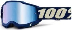 100% ACCURI 2 100% - USA , brýle Deepmarine - zrcadlové modré plexi 50221-250-11
