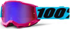 100% ACCURI 2 100% - USA , brýle Lefleur - zrcadlové červené/modré plexi 50221-254-09