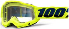 100% ACCURI 2 100% - USA , brýle žluté - čiré plexi 50221-101-04