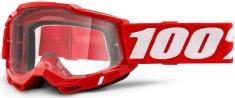 100% ACCURI 2 100% - USA , brýle červené - čiré plexi 50221-101-03
