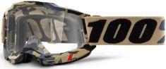 100% ACCURI 2 100% - USA , brýle Tarmac - čiré plexi 50221-101-07