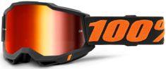100% ACCURI 2 100% - USA , brýle Chicago - zrcadlové červené plexi 50221-251-13