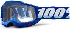 100% ACCURI 2 100% - USA , brýle modré - čiré plexi 50221-101-02