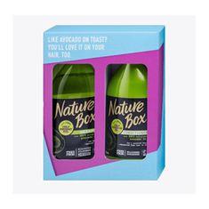 Nature Box Dárková sada vlasové péče Avocado Oil