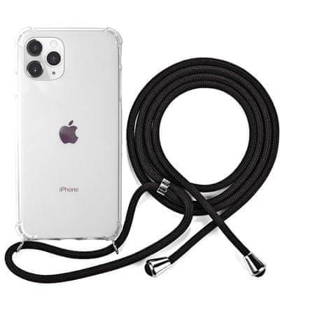 EPICO Nake String Case za iPhone 11 Pro 42410101300007, bel, transparentni, črn