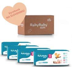 BabyBaby Soft MESAČNÉ BALENIE MINI 2 (224ks)