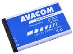 Avacom batéria Nokia 6303, 6730, C5, Li-Ion 3,7V 1050mAh (náhrada BL-5CT) GSNO-BL5CT-S1050A