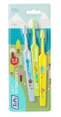 Tepe Mini x-soft zubna četkica za najmlađe, 2+1 gratis