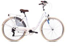 Capriolo Tour Diana S 28/7AL gradski bicikl, bijelo-plavi