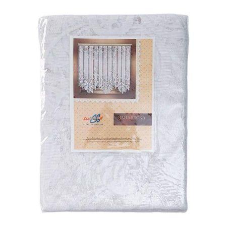 Kraftika Függöny 325x205 cm, fehér, 100% p/e, függönyszalag