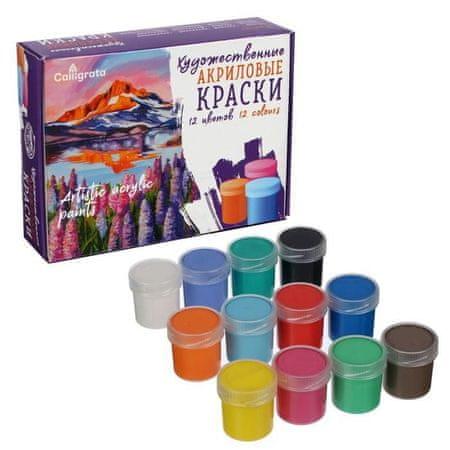 Kraftika Akril művészeti festék egy készletben, művészi