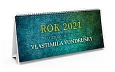 Rok 2021 s literárními hrdiny Vlastimila Vondrušky