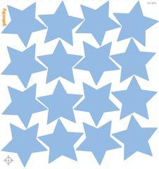 GEKONKY Hvězdy světle modré