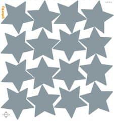GEKONKY Hvězdy šedé