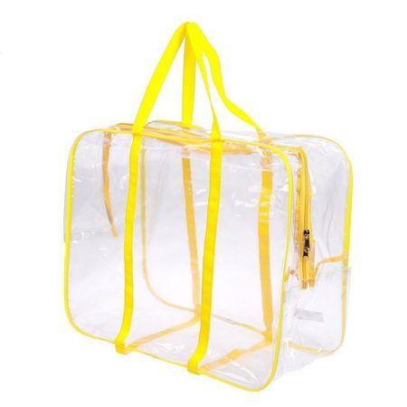 Kraftika Torba w szpitalu z kieszeni, kolor żółty