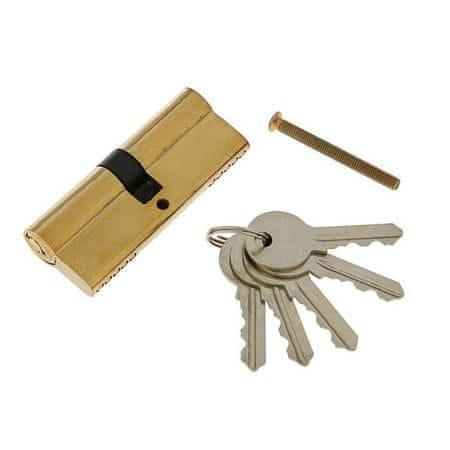 Kraftika Mechanizm cylindra, 80mm, angielski klucz, 5 klucze