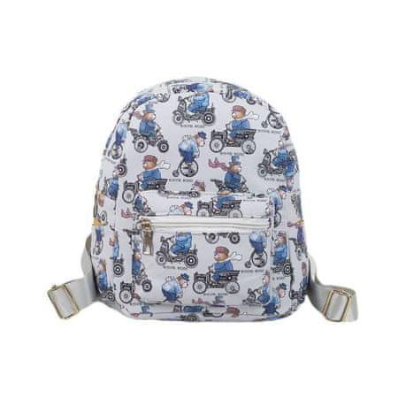 Kraftika Gyermek hátizsák, villám osztály, külső zseb